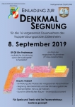 """Ankündigung Festakt - Segnung Denkmal """"Die vergessenen Feuerwehren des Truppenübungsplatzes Döllersheim"""""""